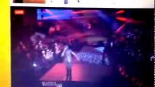 Tarrus Riley - push it to the limit (live) performance 2013 @djrizzle1