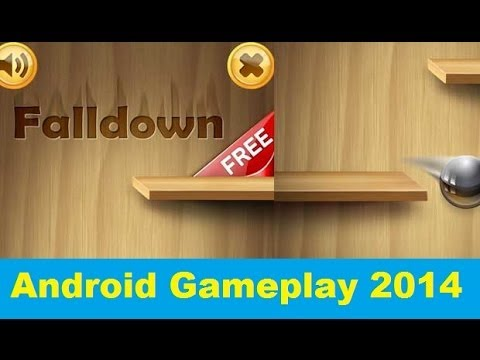 Falling Down Ball Android Gameplay (HD)