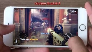 Teste 10 Jogos Pesados Apple iPhone 6 - Melhores Games para iOS 9.2
