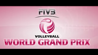 Live: Thailand vs Japan - FIVB Volleyball World Grand Prix 2015
