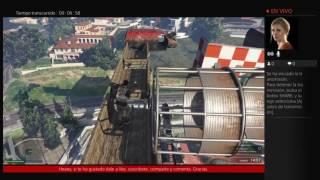 Parkours con brotherblood y misterioso | GTA V online | PS4 | Aquerol11YT