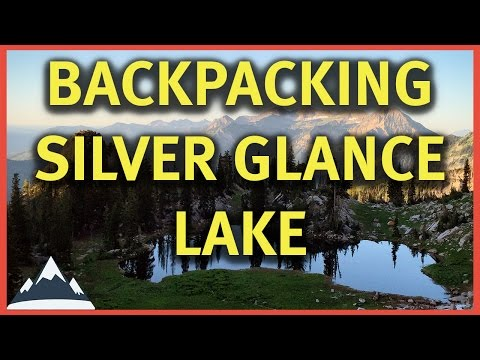 Backpacking Silver Glance Lake - American Fork Canyon, Utah