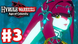 Mipha, the Zora Princess! - Hyrule Warriors: Age of Calamity - Gameplay Walkthrough Part 3