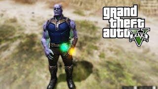 Sẽ ra sao khi Thanos xuất hiện trong GTA 5 | ND Gaming