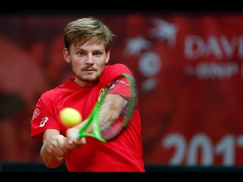 Shot of the Day: David Goffin (BEL)
