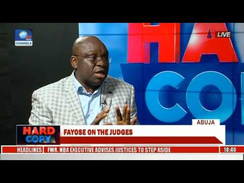 Hard Copy: Fayose Speaks On Judges' Arrest & Released Chibok Girls