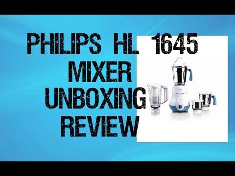 Philips Hl 1645 Mixer Grinder Unboxing & Review || Best Mixer Grinder In India