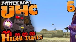 Minecraft UHC Highlights Episode 6: Intense Fight