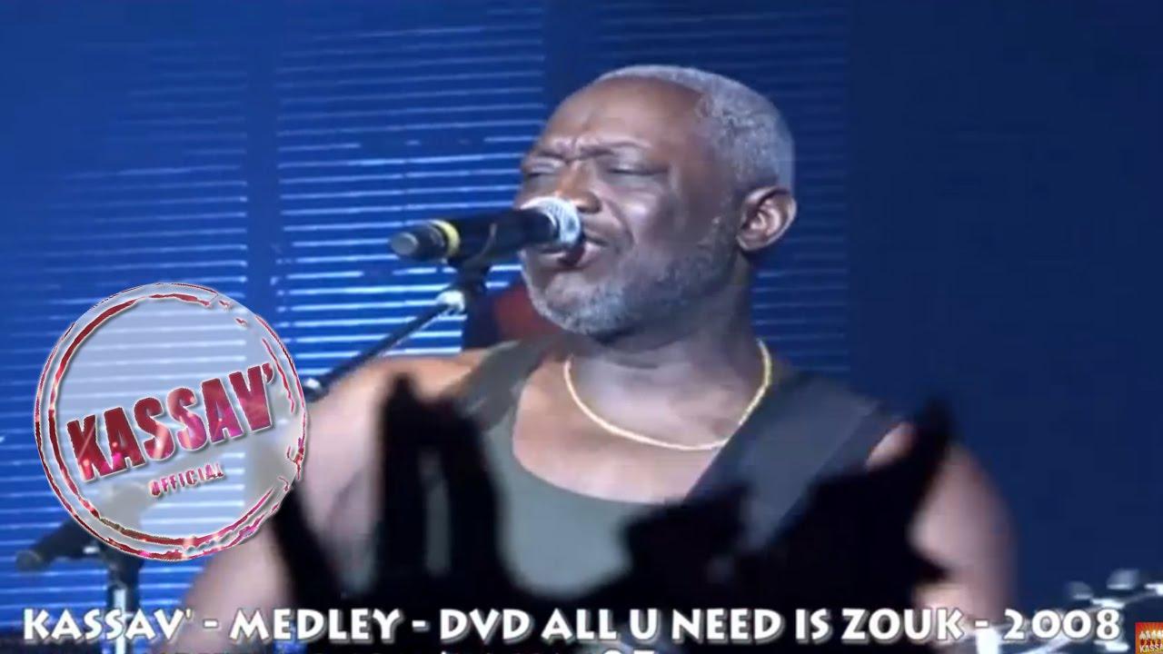 Zouk Kassav Medley Jacob Desvarieux Live Zenith 2008 Youtube