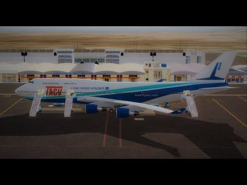 [Prepar3D] TCV6267,  Full Flight - Sal(GVAC) Dubai(OMDB) - PMDG 747-400 V3