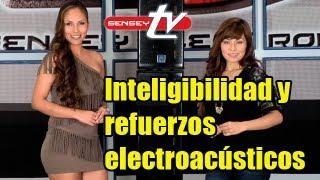 Inteligibilidad y Refuerzos Electroacústicos - Sen