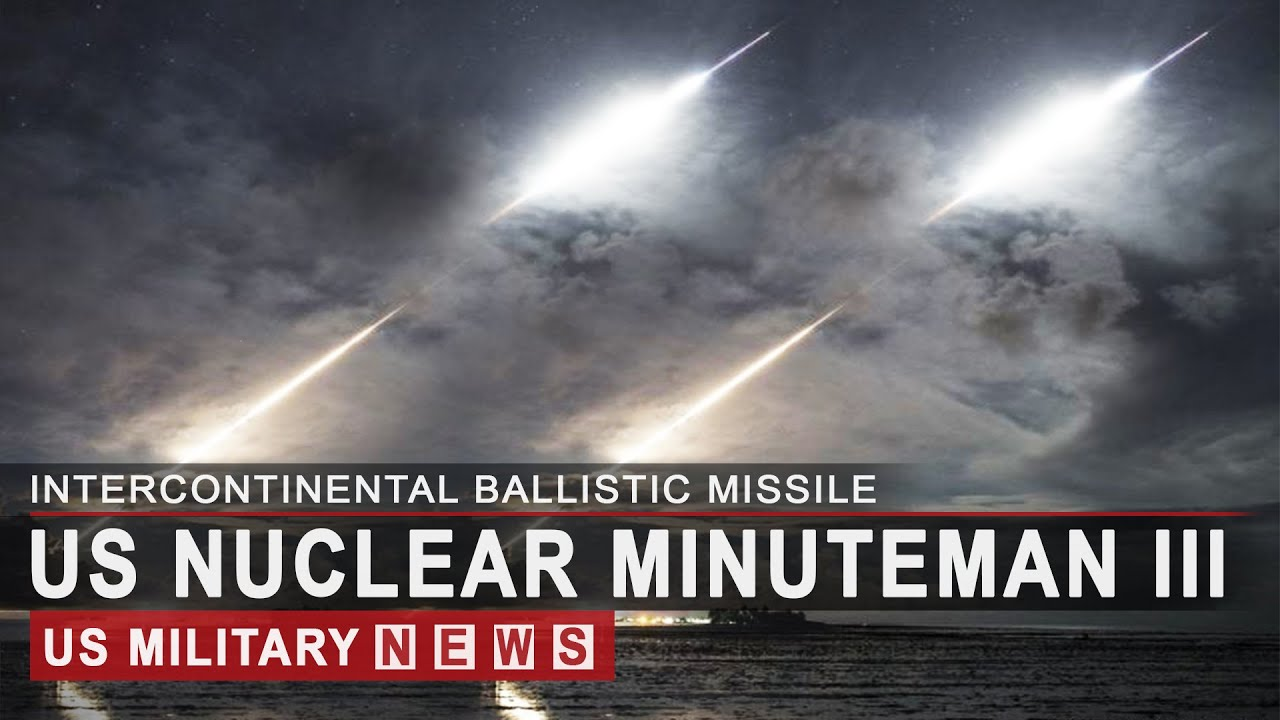 Amid High Tensions, US Test Launch Nuclear ICBM Minuteman III