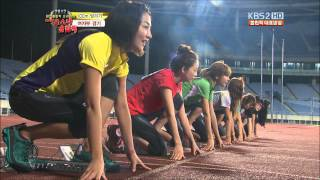 Bomi (apink) - 120805 KBS ATHLETICS COMPETITION (cut)