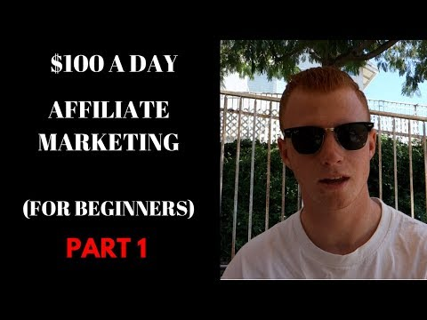 $100 a Day With AFFILIATE MARKETING (PART 1)