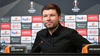 Пресс-конференция после матча «Краснодар» - «Акхисарспор» (Турция)