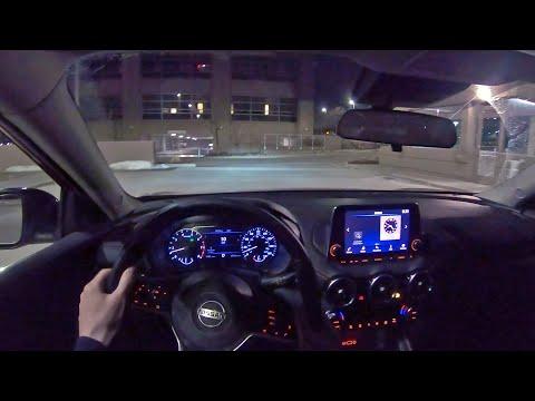 2020 Nissan Sentra SR - POV Night Drive (Binaural Audio)