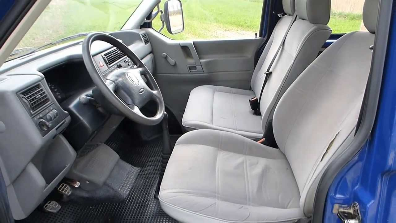 vw t4 doka pritsche start pick up engine 2 4 diesel test. Black Bedroom Furniture Sets. Home Design Ideas