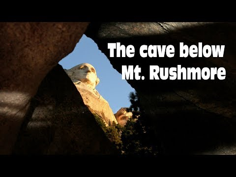 The cave below Mt. Rushmore - Oddments Vlog 13