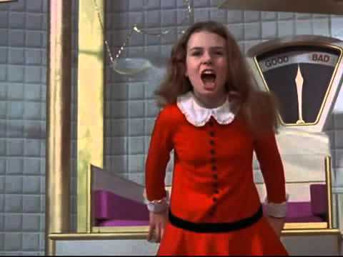 veruca salt i want it now willie wonka the chocolate factory