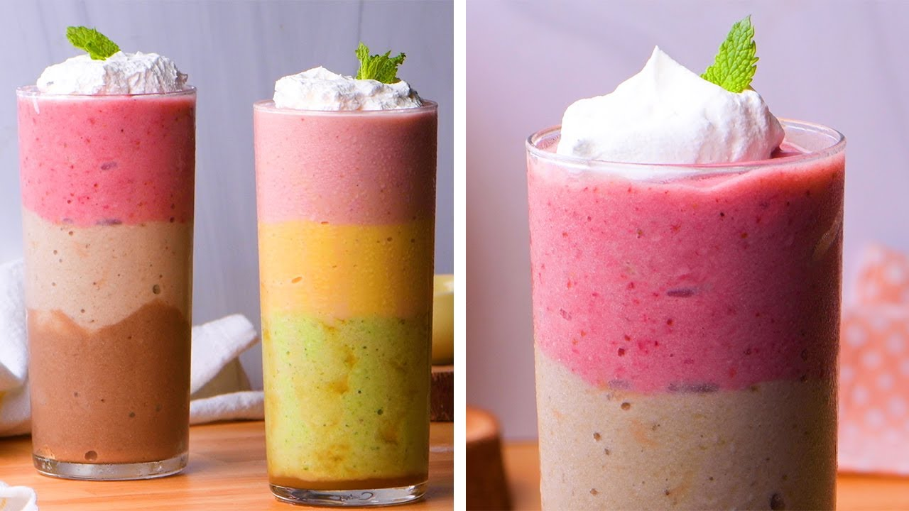 3 Unusual Smoothies to Kickstart Your Summer! So Yummy