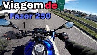 VIAGEM DE FZ25 MINAS GERAIS A BERTIOGA SP  2° VÍDEO
