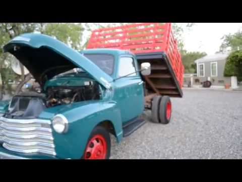 Classic 1950 Chevy Truck, Arizona survivor, Solid flatbed daily driver
