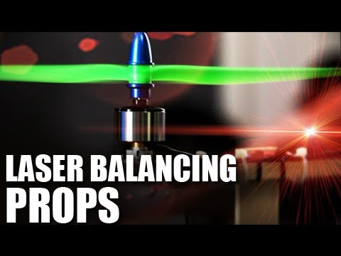 Laser Balancing Props | Flite Test