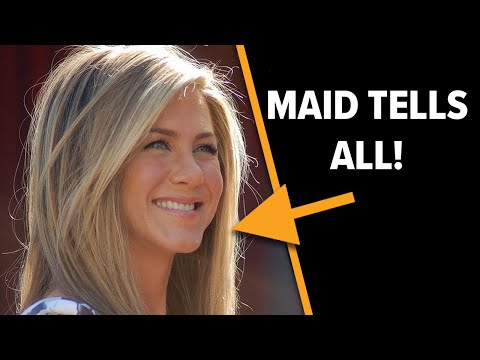 Jennifer Aniston Doesn't Leave Much to the Imagination According to Her Maid