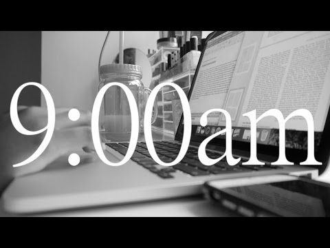 A DAY IN THE LIFE OF PSYCHOLOGY STUDENT | STUDY SESSION VLOG 2016
