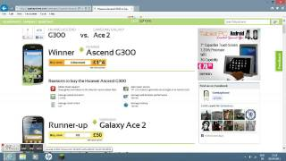Huawei Ascend G300 vs Galaxy Ace 2 | With a Winner |