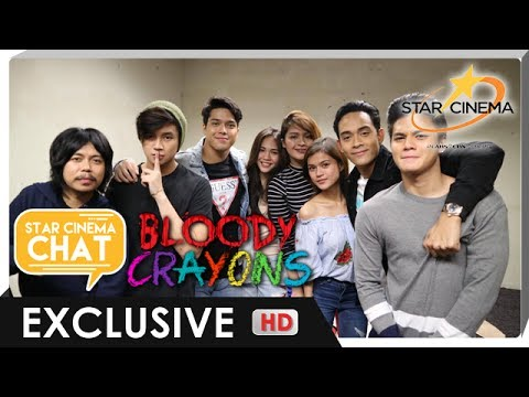 [FULL] Star Cinema Chat with 'Bloody Crayons' barkada