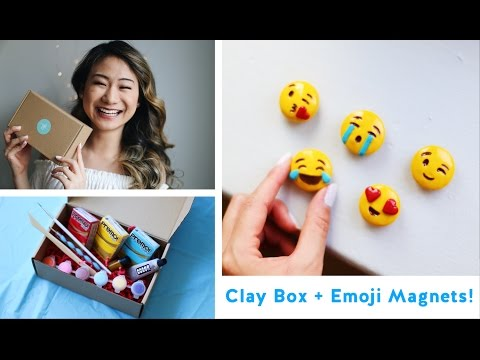 DIY Emoji Magnets + The Clay Box LAUNCH!