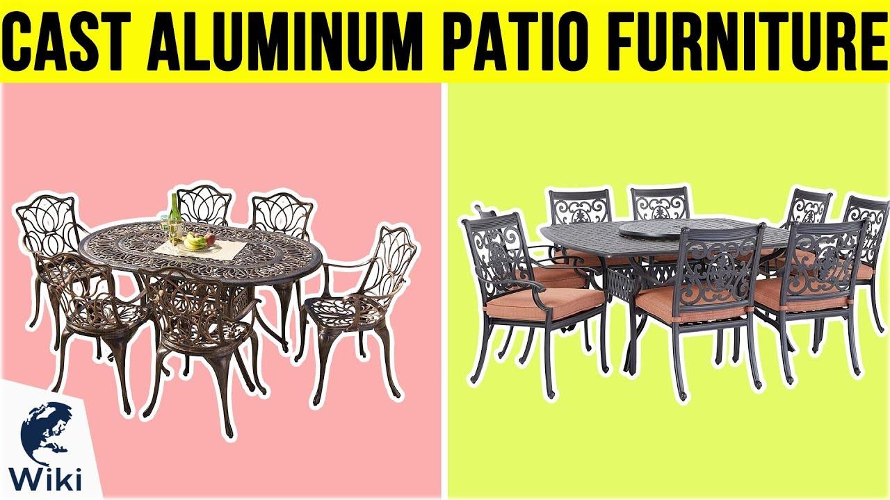 10 best cast aluminum patio furniture 2019