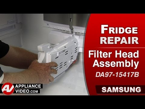Samsung Refrigerator - Filter Head Assembly Repair