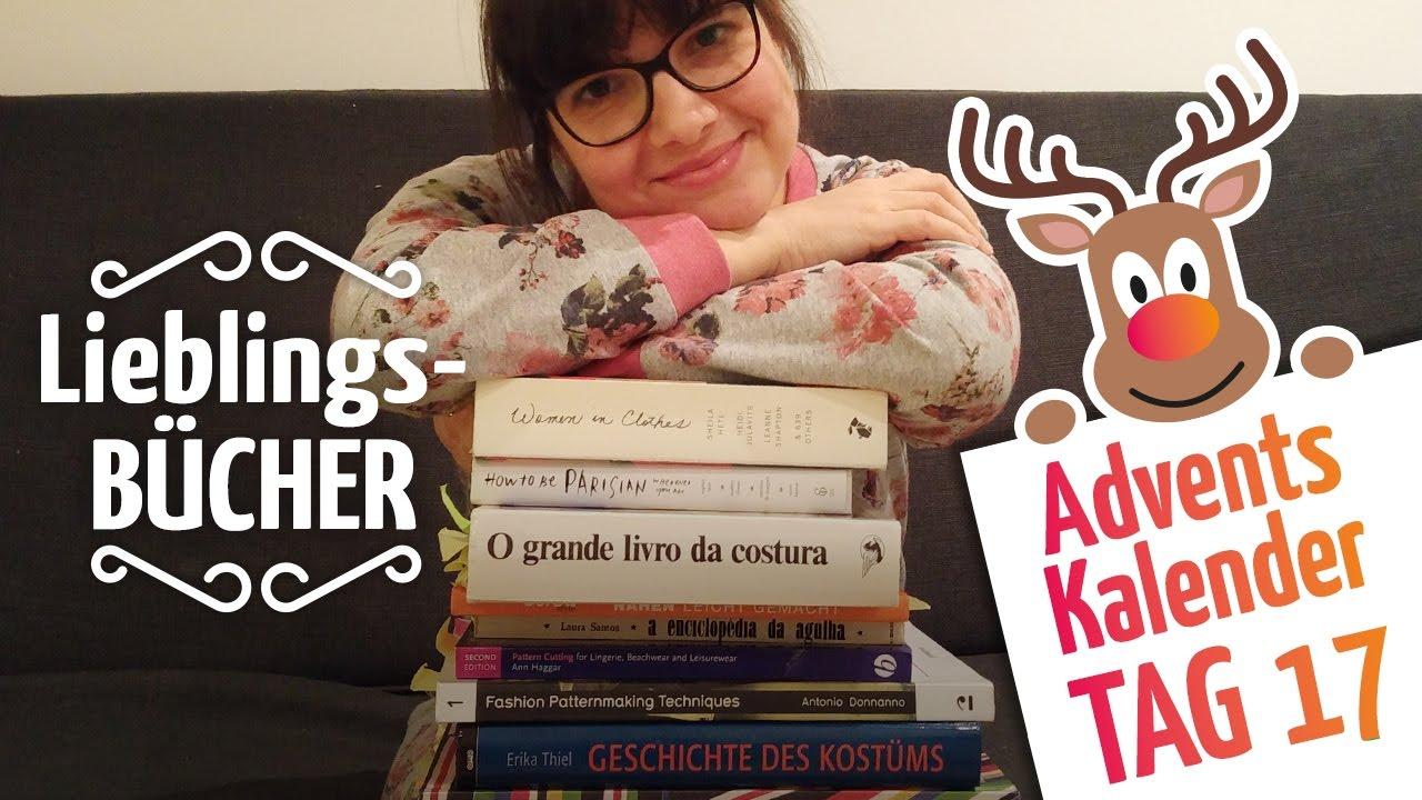 Meine Lieblings-Bücher über Nähen und Mode - YouTube