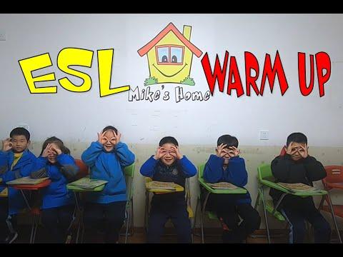 NEW WARM UP - BODY PARTS - ESL WARMER - ESL teaching tips