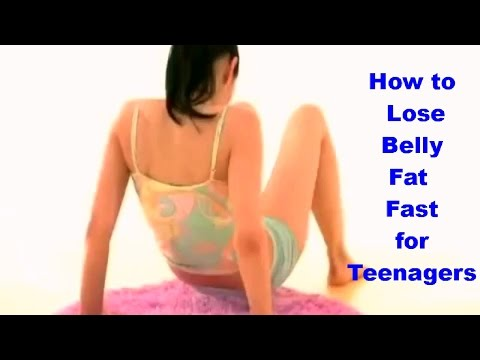 How to Lose Belly Fat Fast for Teenagers | Reduce Belly Fat at Home
