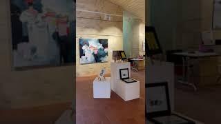 Tour Saint Aubin - exposition Lau BLOU