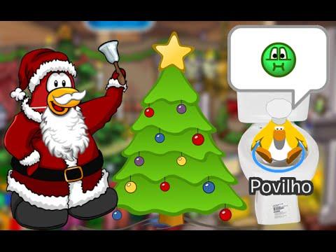 Club Penguin Acabou Papel Especial De Natal Youtube