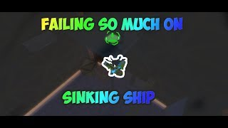 So Much Fails On Sinking Ship w/ Holycreeperman | ROBLOX FE2