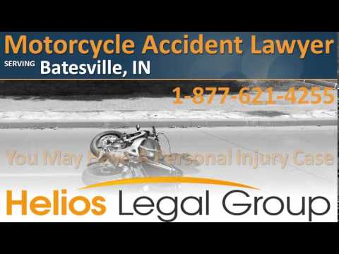 Batesville Motorcycle Accident Lawyer & Attorney - Indiana