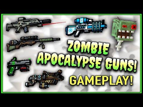 Pixel Gun 3D - Zombie Apocalypse Weapon Gameplay!