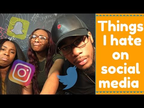 Things I Hate About Social Media ft. LEEKTV || Khalifa Rashida