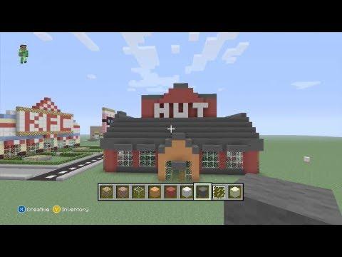minecraft how to build a village hut