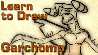 Learn to Draw Garchomp !