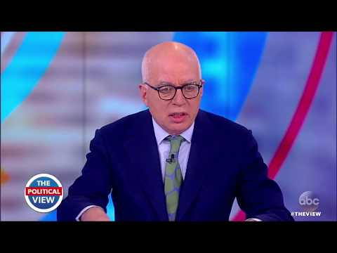 'Fire and Fury' Author Michael Wolff On Bannon's Ousting, Trump's Mental Fitness   The View