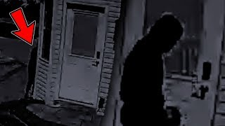5 Am Break-In Attempt On My Home Caught By Security Camera