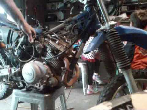 ttr125 part 1 tear down topend rebuild
