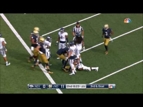 2016 #18 Notre Dame vs Nevada Condensed Game