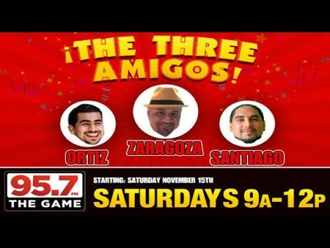 95.7 The Game/ The Three Amigos